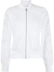 Cecilia Prado Knitted Jacket White