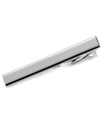 Kenneth Cole Reaction Polished Tie Clip Silver