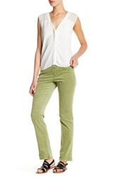 Jag Jeans Peri Pull On Stretch Corduroy Pant Petite Green