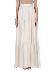 Erin Fetherston Long Skirts Ivory