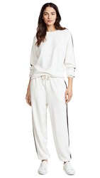 Olivia Von Halle Missy Moscow Tracksuit Ivory