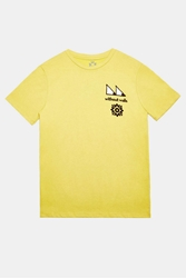 Without Walls Trail Eyes Tee Yellow