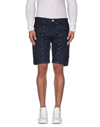 Duck And Cover Trousers Bermuda Shorts Men Dark Blue