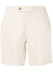 Venroy Side Tab Shorts Neutrals