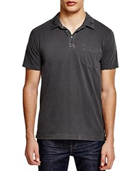 Splendid Mills Spring Pigment Dyed Regular Fit Polo Shirt Charcoal