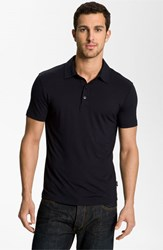 Men's Armani Collezioni Trim Fit Polo Navy