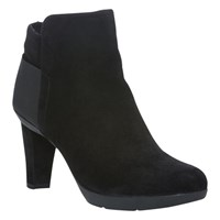 Geox Inspiration A Ankle Boots Black Suede