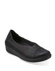 Clarks Sillian Intro Flats Black