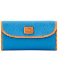 Dooney And Bourke Patterson Trifold Wallet Azure