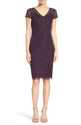 Adrianna Papell Women's Embellished Sheath Dress