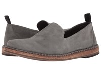 John Varvatos Zander Loafer Lead Slip On Dress Shoes Gray
