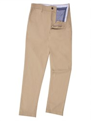 Lacoste Men's Cotton Twill Chino Pants Tan