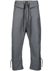 Lost And Found Ria Dunn Easy Trousers Grey
