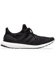 Adidas Black And White Ultraboost Low Top Sneakers