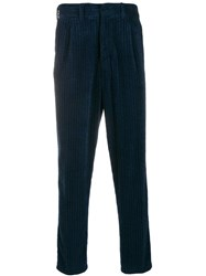 The Gigi Santiago Corduroy Trousers Blue