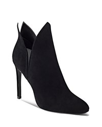 Kendall And Kylie Madison Side Slit High Heel Booties Black