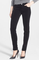 Petite Women's Kut From The Kloth 'Diana' Stretch Corduroy Skinny Pants New Black