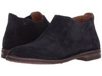 Trask Allison Navy Suede Dress Boots Blue