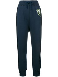 Undercover Drawstring Track Trousers Blue