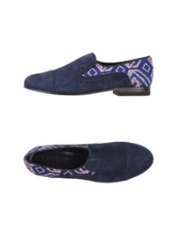 C.B. Made In Italy Moccasins Dark Blue