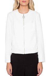 Willow And Clay Women's Knit Bomber Jacket