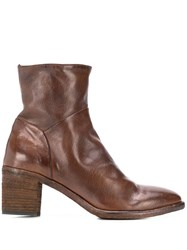 Officine Creative Sarah Ankle Boots Brown