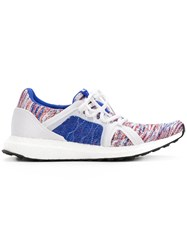 Adidas By Stella Mccartney Knitted Sporty Sneakers White