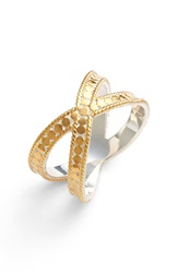 Anna Beck 'Gili' Crossover Ring Gold Silver