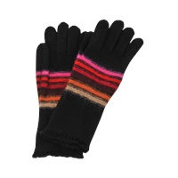 Sonia Rykiel Long Striped Wool And Mohair Gloves