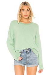Central Park West Shangri La Sweater Green