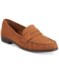 American Rag Peggi Loafers Only At Macy's Women's Shoes Chestnut