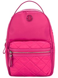 Moncler Georgette Backpack Pink Purple