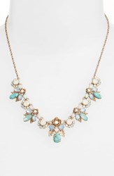 Marchesa Women's Bright Paradise Frontal Necklace