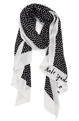 Kate Spade Women's New York Spotted Oblong Scarf