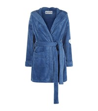 Wildfox Couture Thunderbolt Plush Robe Blue