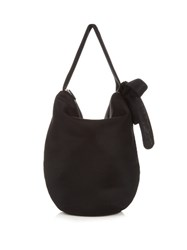 Simone Rocha Side Bow Neoprene Bag Black