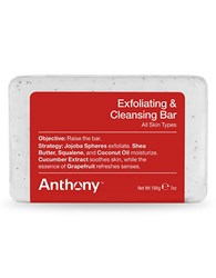 Anthony Logistics For Men Exfoliating And Cleansing Bar 7 Oz. No Color