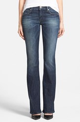 Women's True Religion Brand Jeans 'Becca' Twisted Inseam Bootcut Jeans Lost Lagoon Nordstrom Exclusive