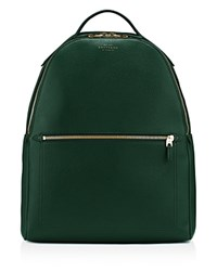 Smythson Large Backpack Heritage Green
