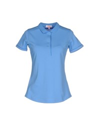 Sun 68 Topwear Polo Shirts Women Light Green