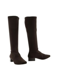 Mortarotti Montenapoleone Boots Dark Brown