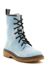 Godiva Toby Lace Up Boot Blue