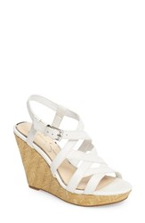 Jessica Simpson Women's Jazlin Wedge Sandal Powder Leather