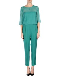 Seventy Dungarees Trouser Dungarees Women Light Green