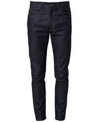 Gucci Slim Fit Denim Jeans Blue Denim Beige Brown Indigo Tan