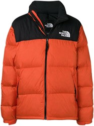 The North Face Feather Down Jacket Orange