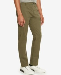 Kenneth Cole Reaction Men's Lightweight Twill Cargo Pants Caper