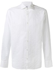 Danolis Spread Collar Shirt White