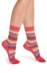 Paul Smith Felicity Rainbow Socks Pink Multi