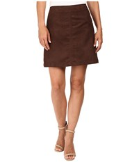 Sanctuary Easy Mod Skirt Rich Chocolate Women's Skirt Brown